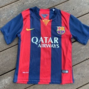 Nike Dri-Fit FC Barcelona Messi Kids  Soccer Sm